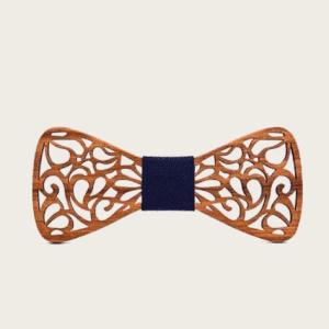 Noeud Papillon en Bois : Présentation d'un accessoire de mode pour homme