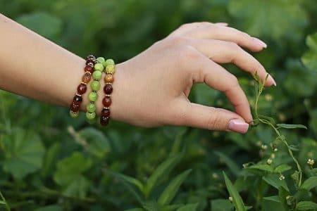 Que représente un bracelet de perles chinoises porte-bonheur?